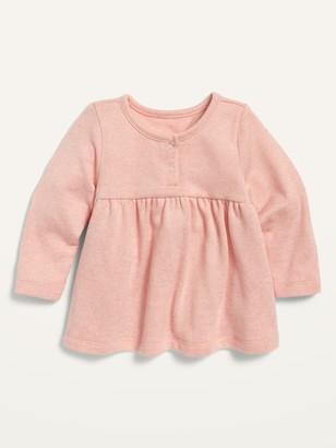 Old Navy Unisex Cozy Plush-Knit Peplum-Hem Top for Baby