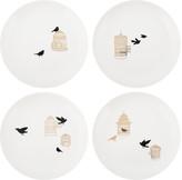 Pols Potten Freedom Birds Plate - Set of 4
