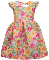 Bonnie Jean Girls 4-6x Floral Print Dress