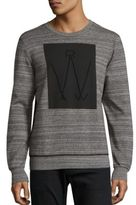 G Star Luxas Biker Art Heathered Sweatshirt