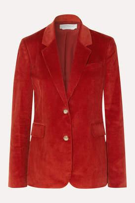 Gabriela Hearst Sophie Cotton-corduroy Blazer - Red