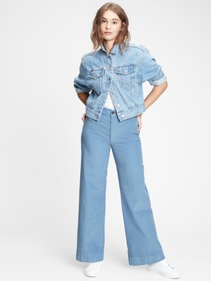 Gap High Rise Wide-Leg Corduroy Pants
