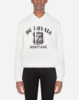 Dolce & Gabbana Army Print Hoodie