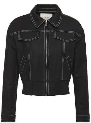 Maje Cotton-blend Jacket