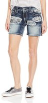 Miss Me Women's Embellished Mid Thigh Short