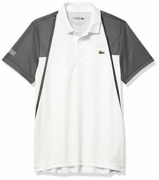 Lacoste Men's Sport Mesh Short Sleeve Ultra Dry Polo Shirt
