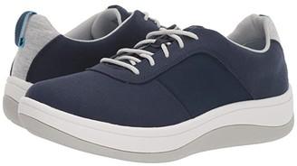 Clarks Arla Step (Navy Textile) Women's Shoes