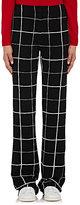 Lisa Perry Women's Crepe Boot-Cut Pants-BLACK, WHITE, NO COLOR