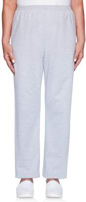 Alfred Dunner Women's Pull-on French Terry Pants
