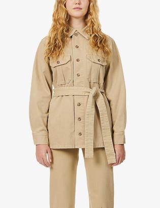 Boyish The Jeffrey belted cotton-twill jacket