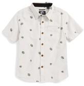 O'Neill Boy's Brees Short Sleeve Woven Shirt