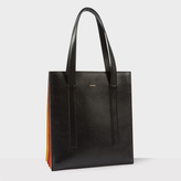 Paul Smith Women's Black 'Concertina' Tote Bag