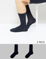 Tommy Hilfiger Classic 2 Pack Sock In Navy