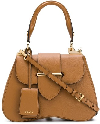 Prada top-handle shoulder bag