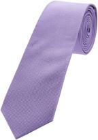 Oxford Silk Tie Reg Mauve