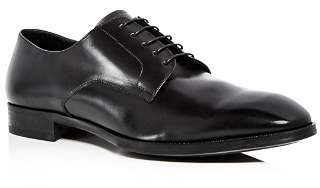 Giorgio Armani Men's Leather Plain Toe Oxfords
