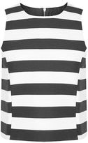 Topshop Striped shell top