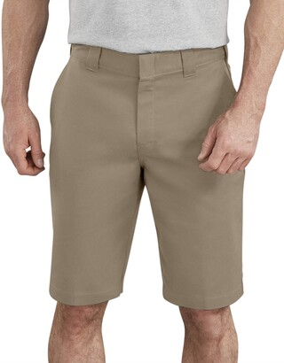 Dickies Men's Tall 11 Inch Flex Flat Front Active Waist Short Big