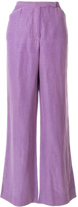 Emanuel Ungaro Pre Owned Wide Leg Trousers