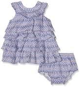NECK & NECK Girl's 17V01202.23 Small Fabric Dress
