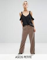 Asos Pajama Pant In Velvet