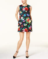 Love Moschino Floral-Print Shift Dress
