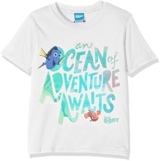 Disney Girl's Finding Dory Ocean of Adventure Short Sleeve T-Shirt