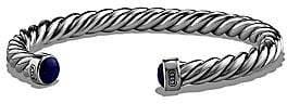 David Yurman Men's The Cable Lapis Lazuli & Sterling Silver Cuff Bracelet