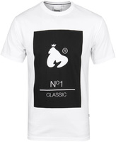 Money No1 Classic White Crew Neck T-shirt