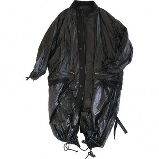 Haider Ackermann Black Synthetic Coats