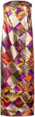 A.N.G.E.L.O. Vintage Cult 1960 Geometric Print Dress
