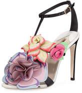 Sophia Webster Jumbo Lilico Patent Leather Sandal