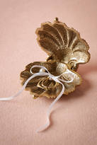 Anthropologie Gilded Seashell Ring Holder