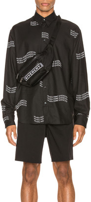 Givenchy Studio Homme Shirt in Black | FWRD