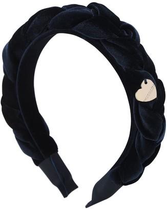 MonnaLisa Braided Velvet Headband