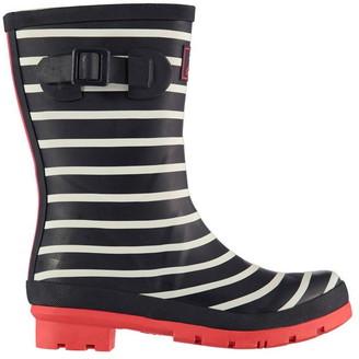 Joules Stripe Wellington Boots