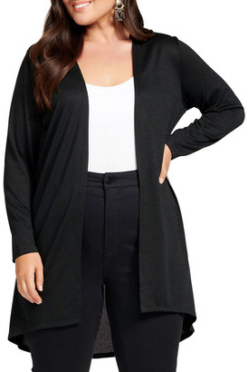 Forever New Curve Taylor High Low Curve Cardigan