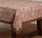 Pottery Barn Norwood Paisley Tablecloth
