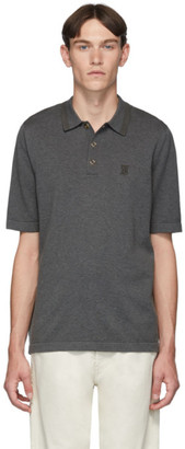 Burberry Grey Monogram Rosston Polo