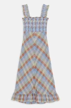 Ganni Maxi Dress In Multicolour - 36