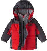 ZeroXposur Boys 4-7 Mock-Layered Fleece-Lined Jacket