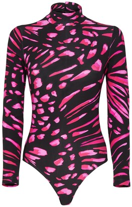 Redemption Athletix Print Turtleneck Bodysuit