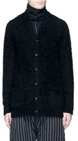 Attachment Wool bouclé cardigan