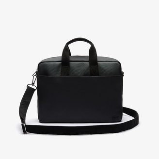 Lacoste Men's Classic Petit Pique Computer Bag