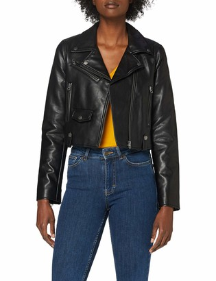 Pepe Jeans Women's Gwen Faux Leather Jacket