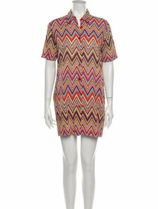 Missoni Mare Striped Mini Dress