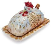 Sur La Table Jacques Pépin Collection Chicken Butter Dish