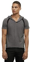Kenneth Cole Reaction Men's Pique Ss Hoodie