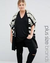 Junarose Striped Cardigan