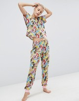 Asos Disney Princesses Tee & Legging Pajama Set